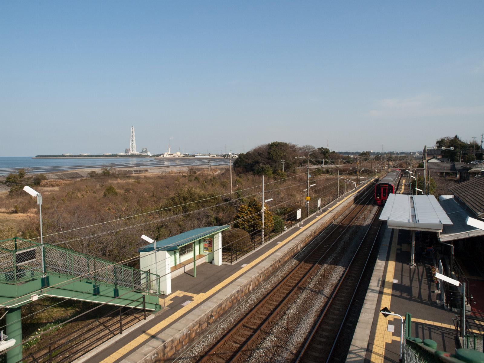 豊前松江駅 | 海の見える駅