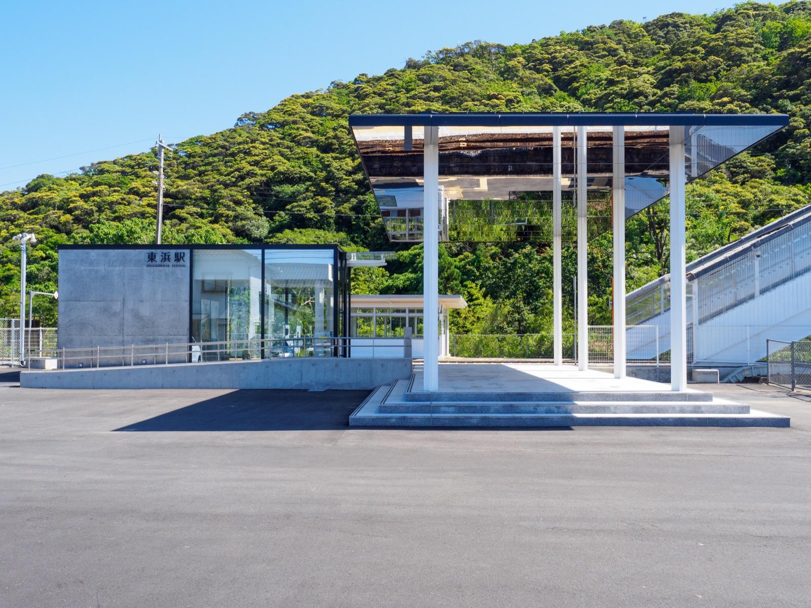 東浜駅の駅舎