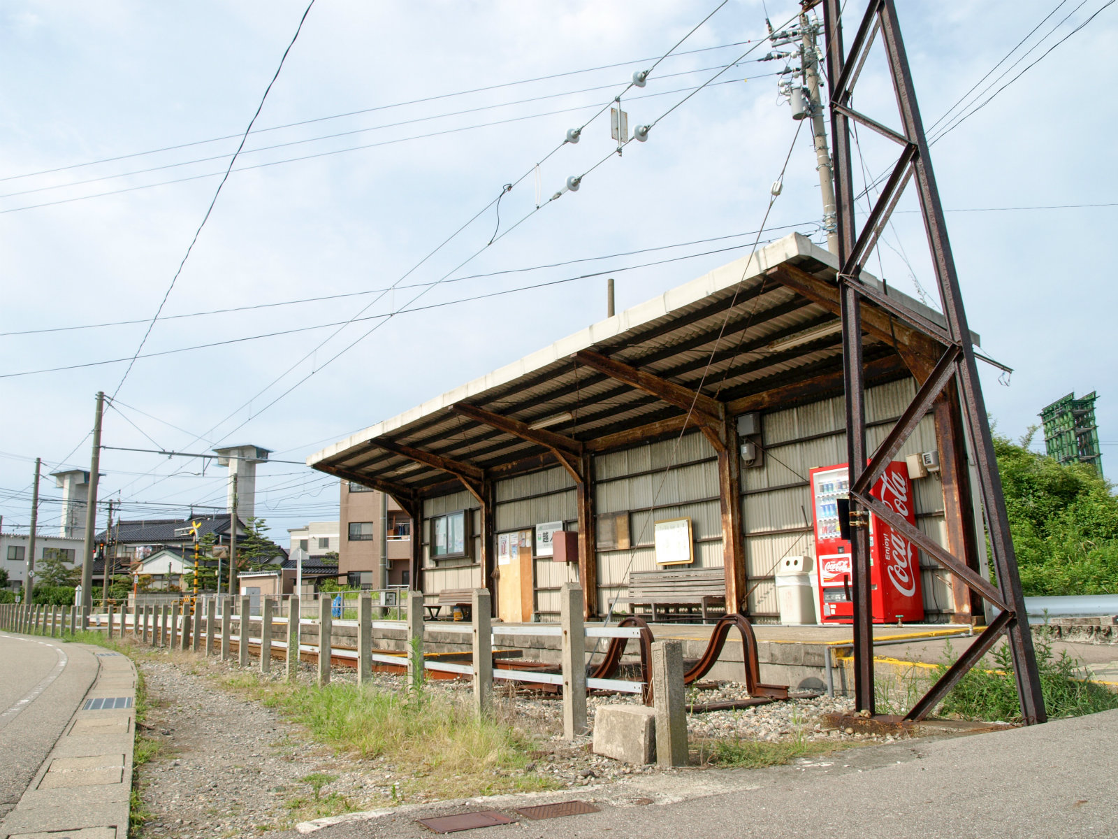 越ノ潟駅全景