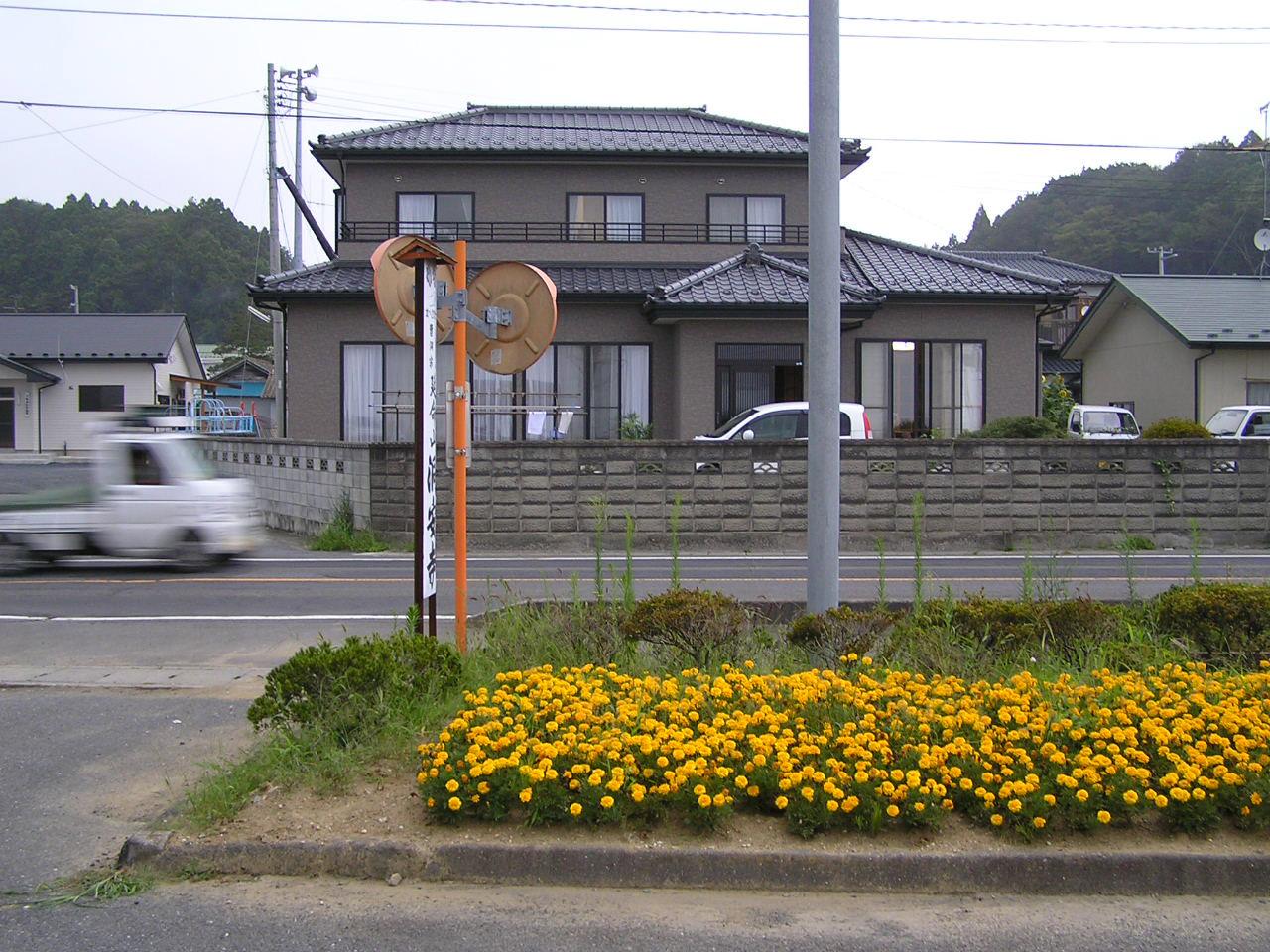 陸前大塚駅前