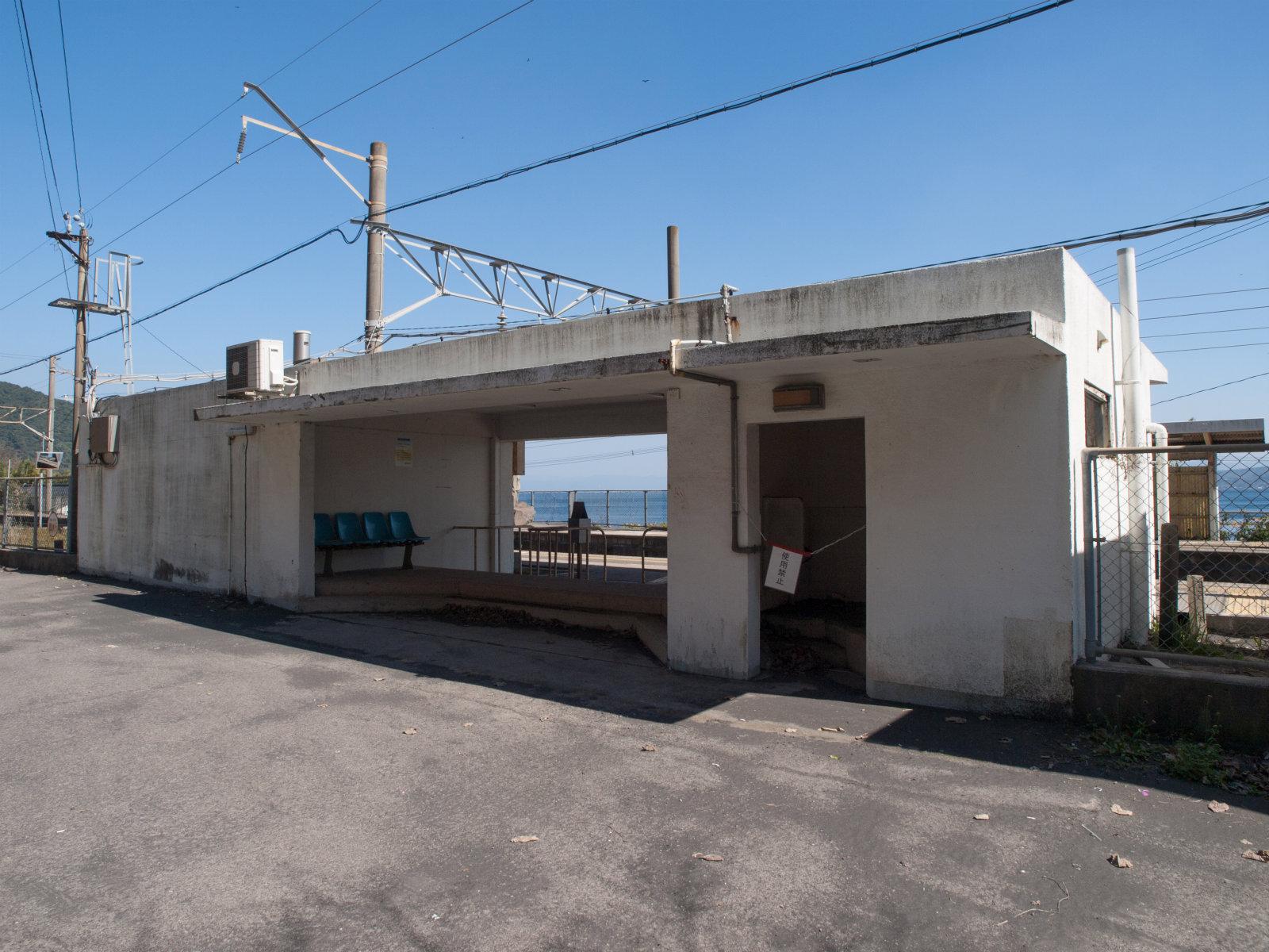 竜ケ水駅の駅舎