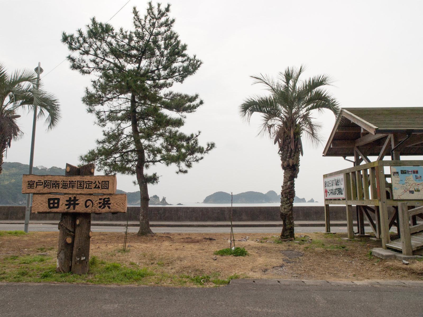 田井ノ浜駅周辺