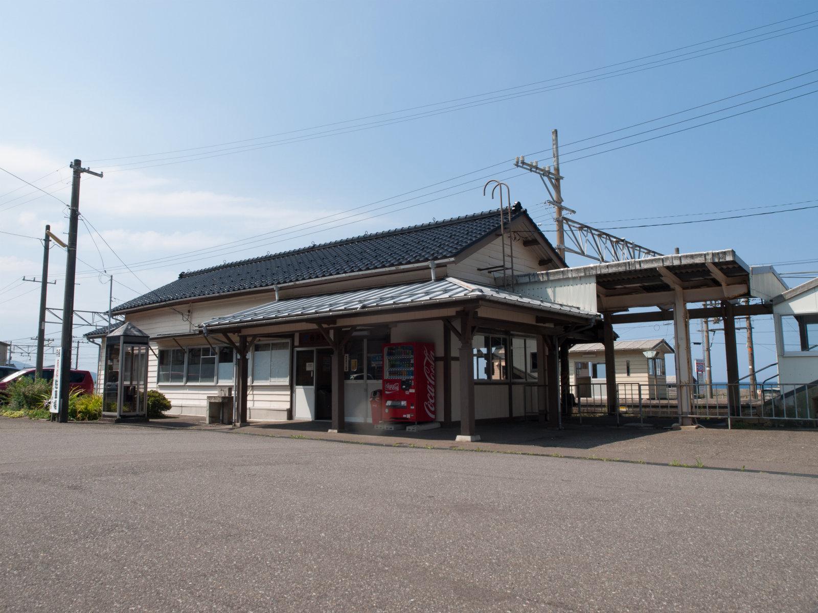 谷浜駅周辺