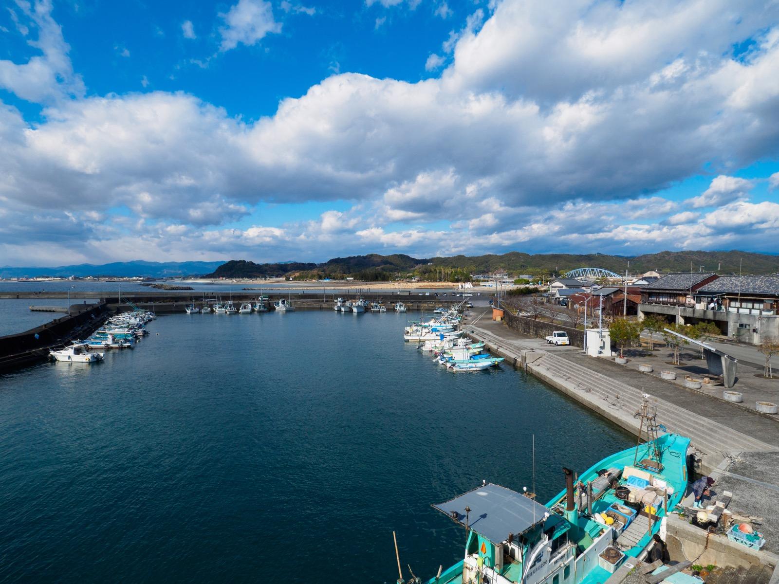 手結港の外港