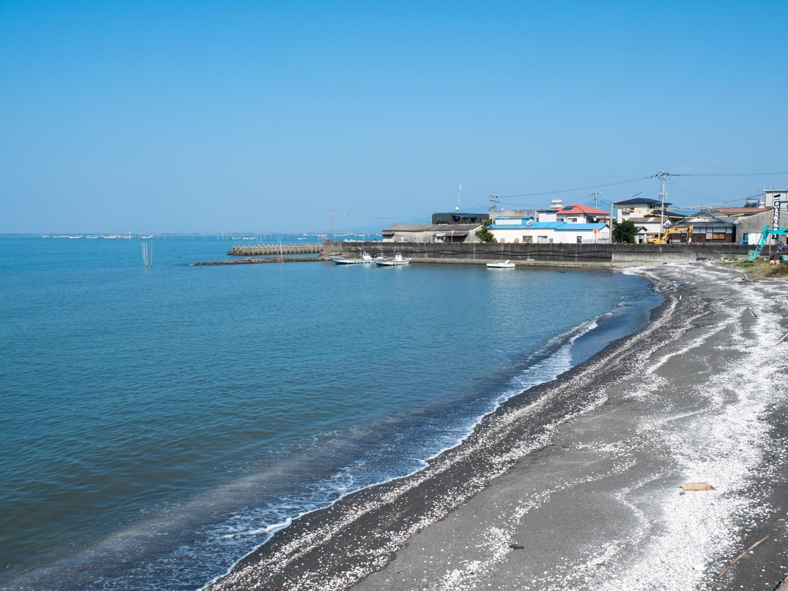 長浜海岸(肥後長浜潮干狩り場)