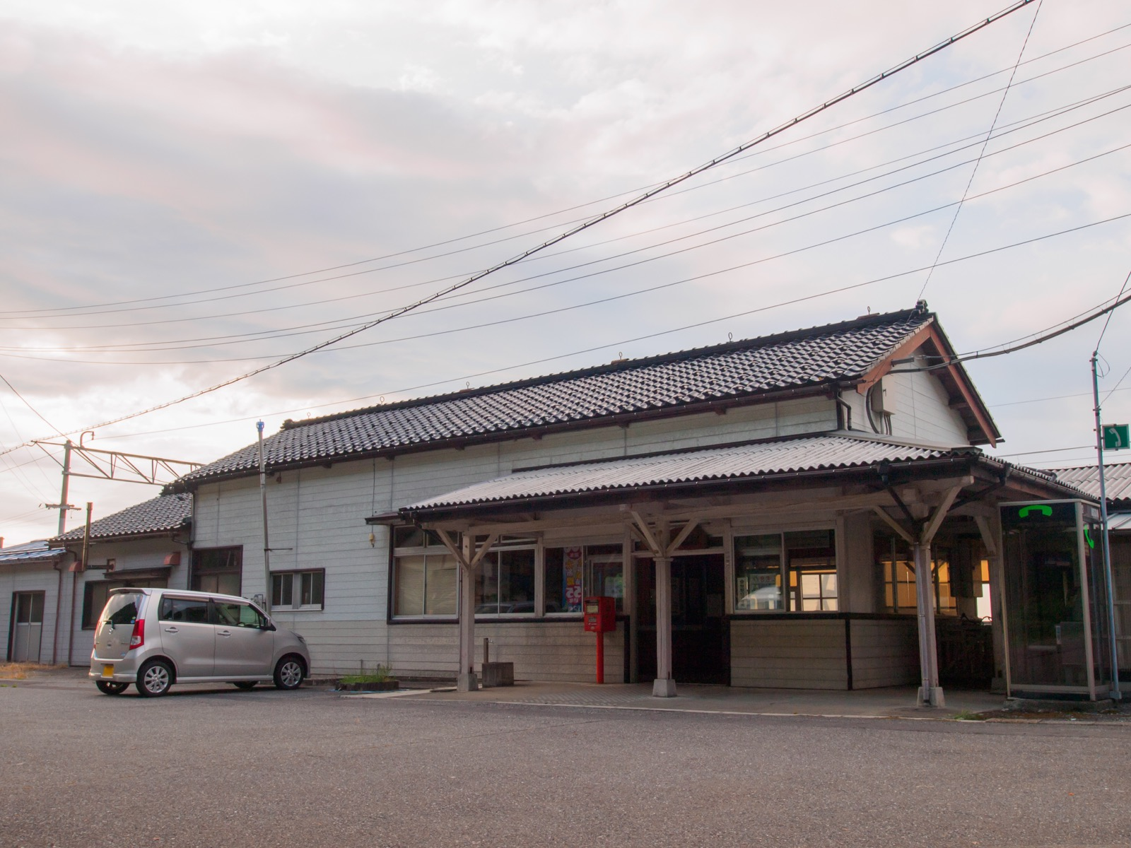 市振駅の駅舎