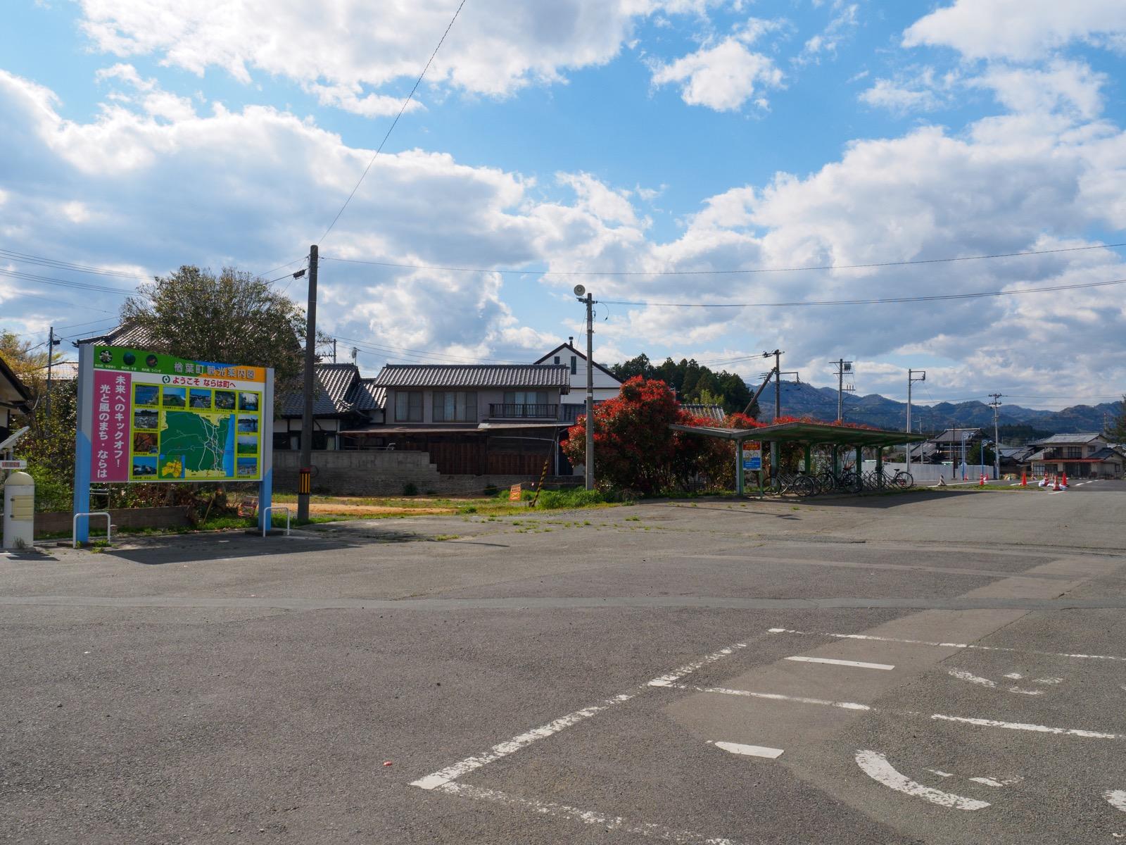 木戸駅前(2017年4月)
