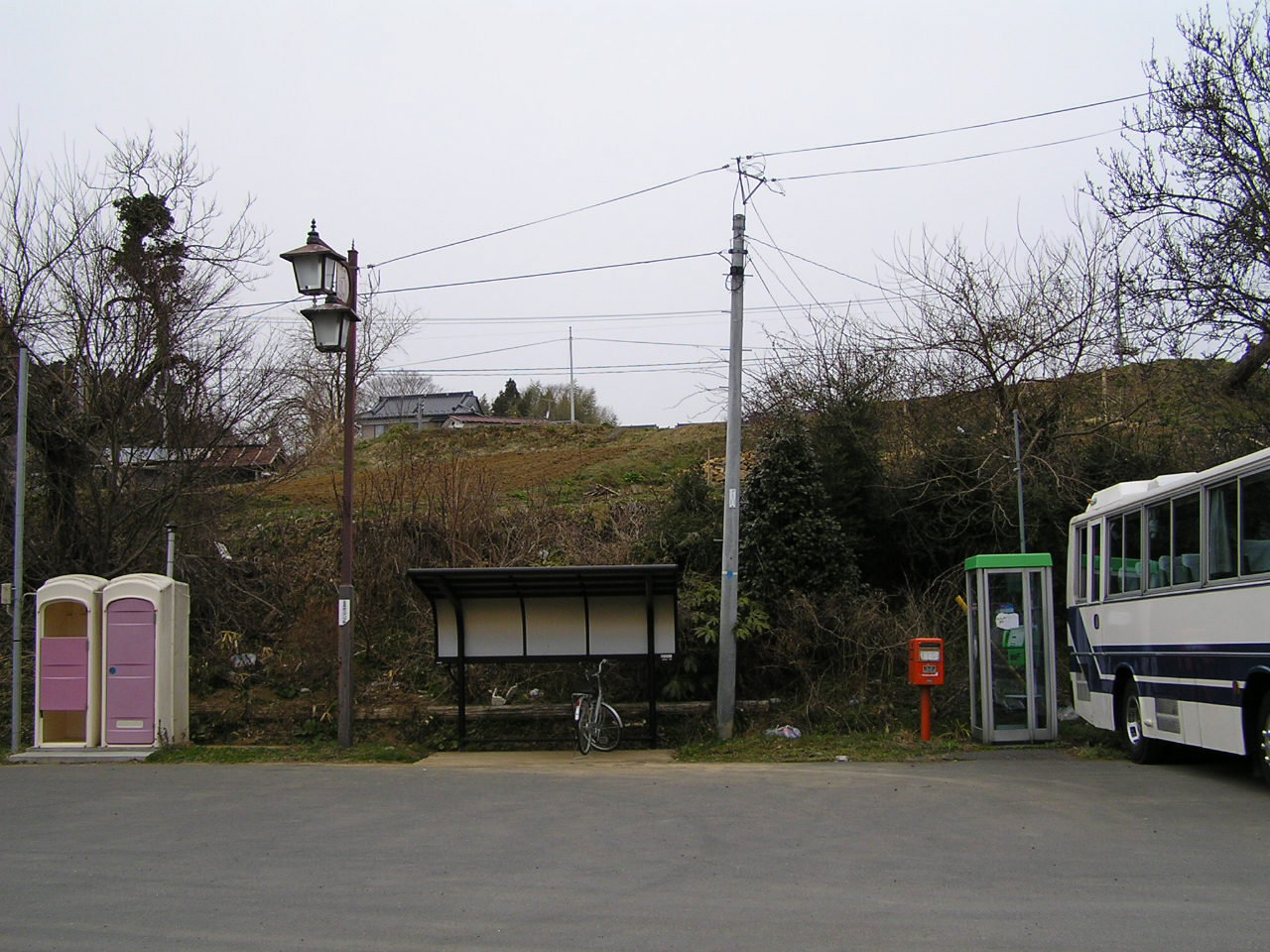 小金沢駅まえ