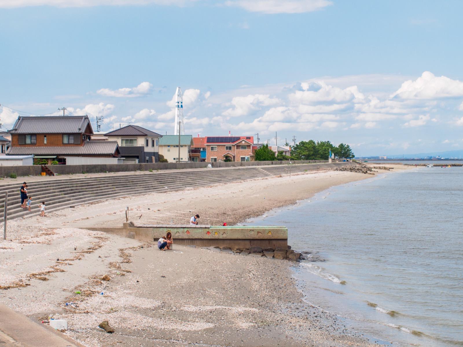 河和口駅前にある河和口潮干狩り場