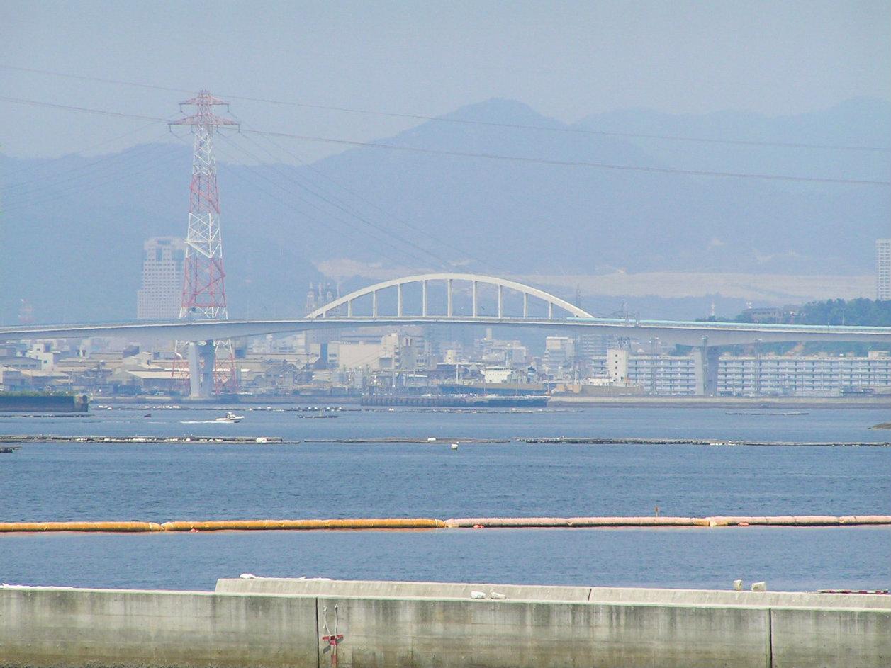 水尻駅から見た広島市街