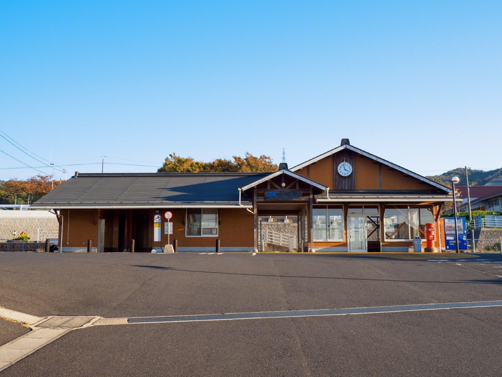 小田駅の駅舎