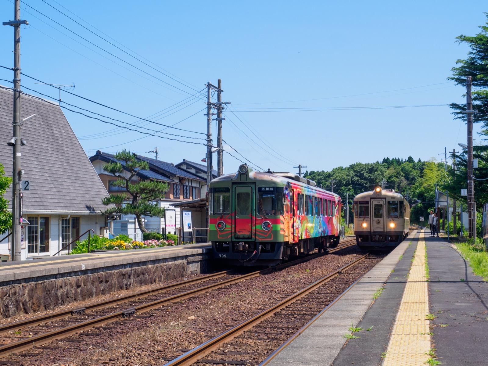 小天橋駅のホーム