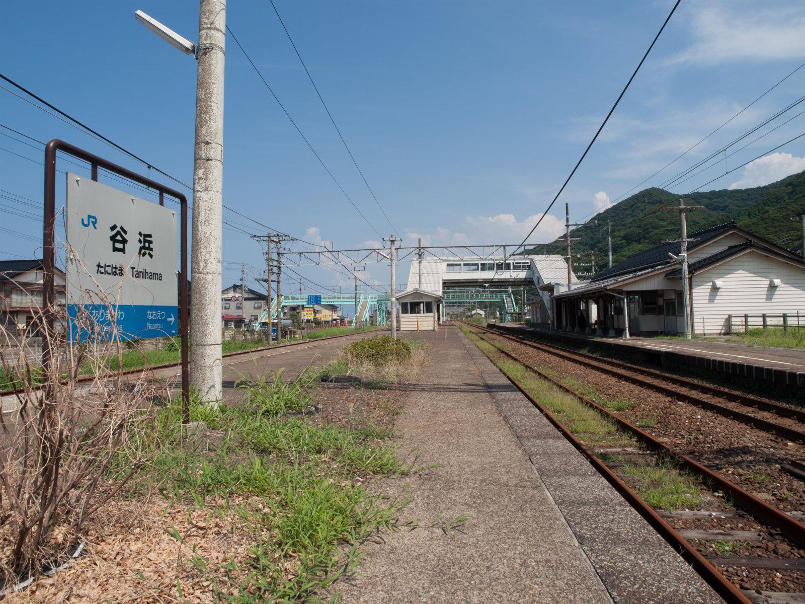 谷浜駅 | 海の見える駅