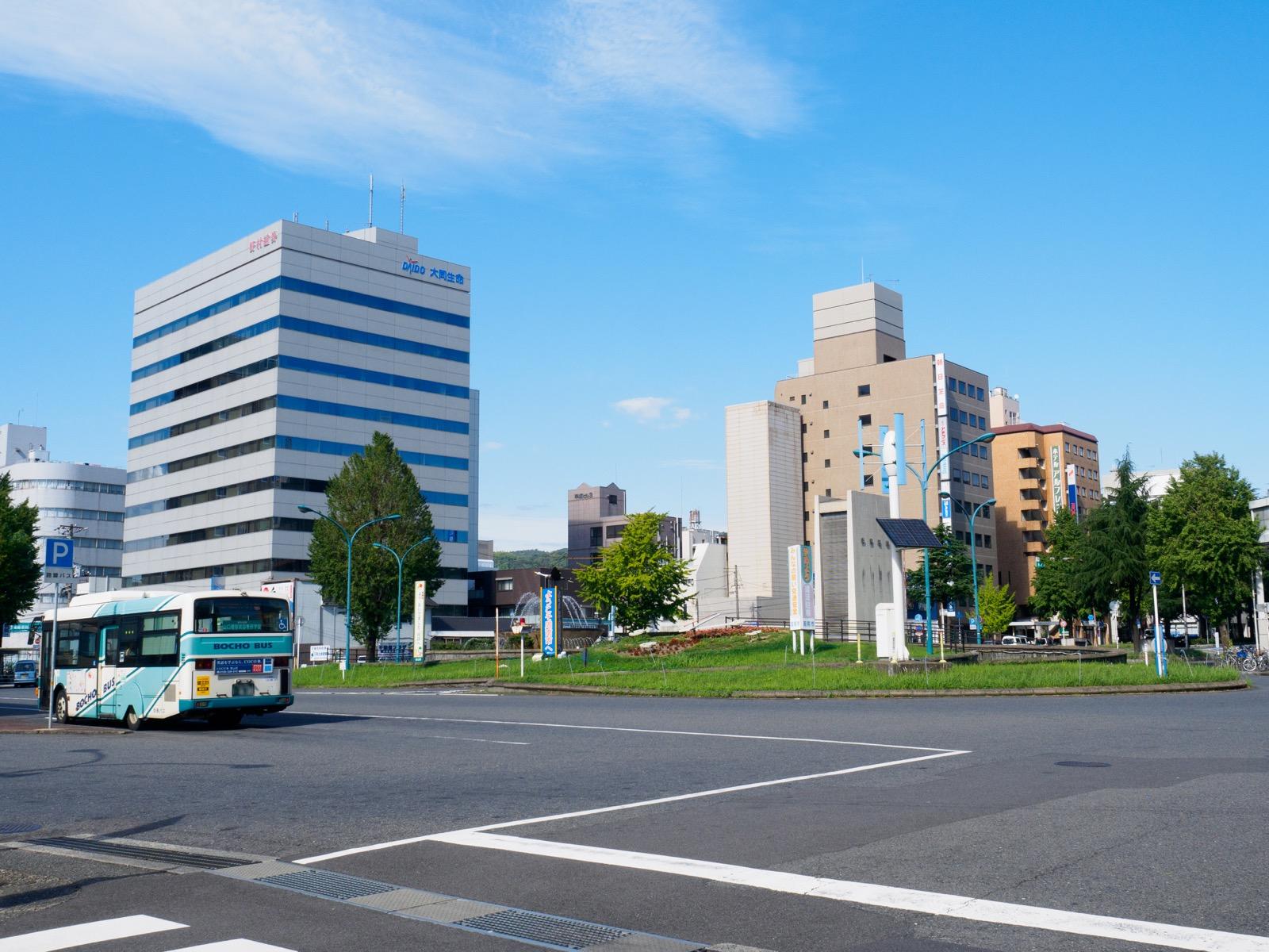 徳山駅みゆき口の駅前