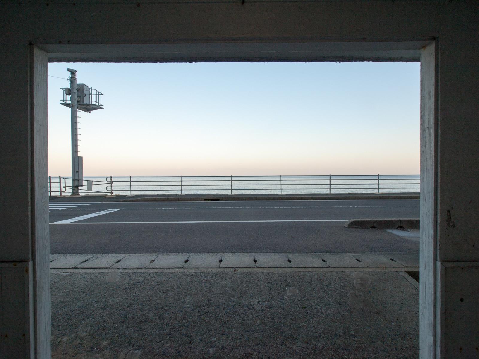 宇田郷駅前
