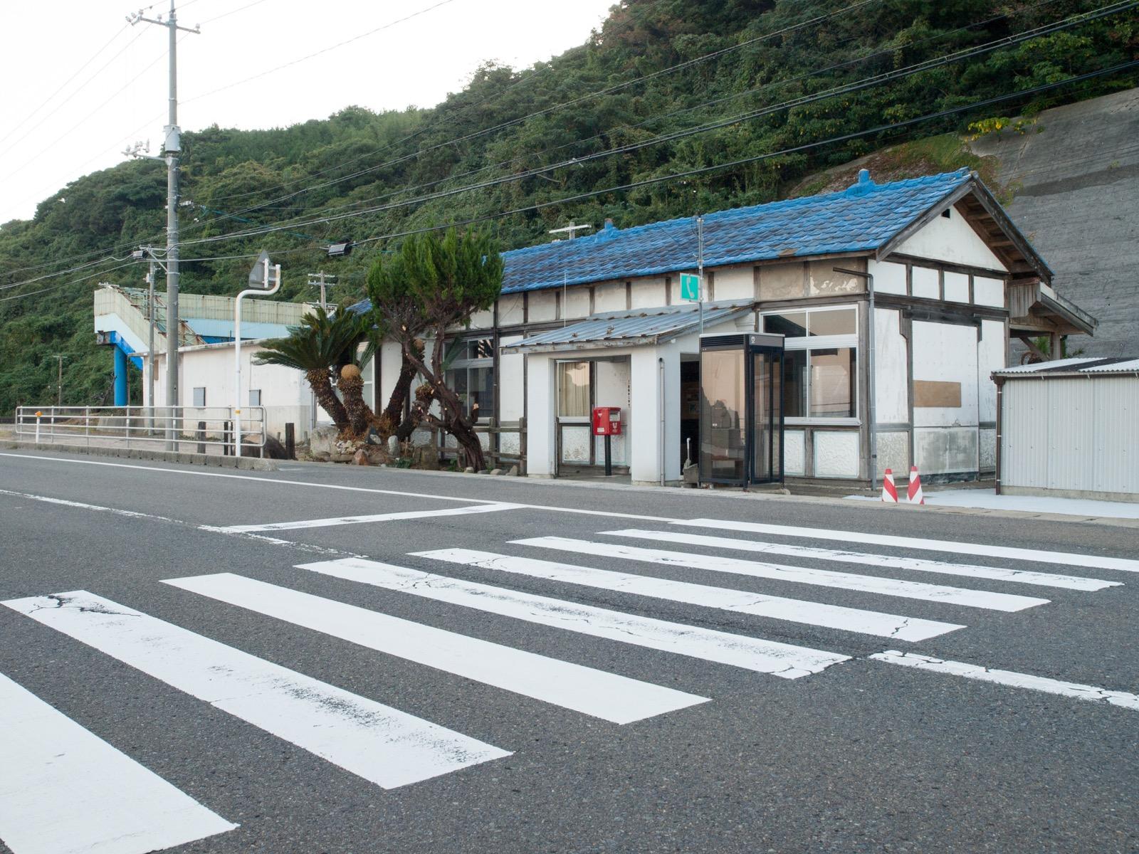宇田郷駅の駅舎