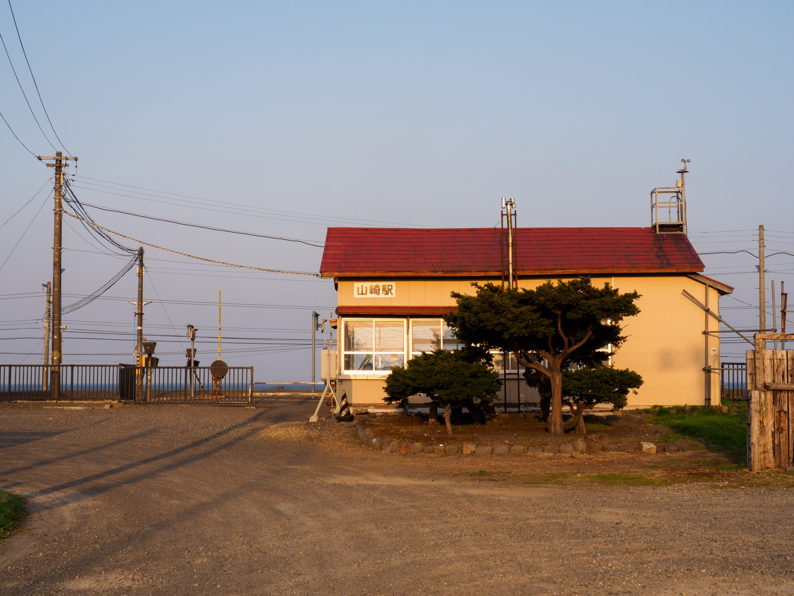 山崎駅の駅舎