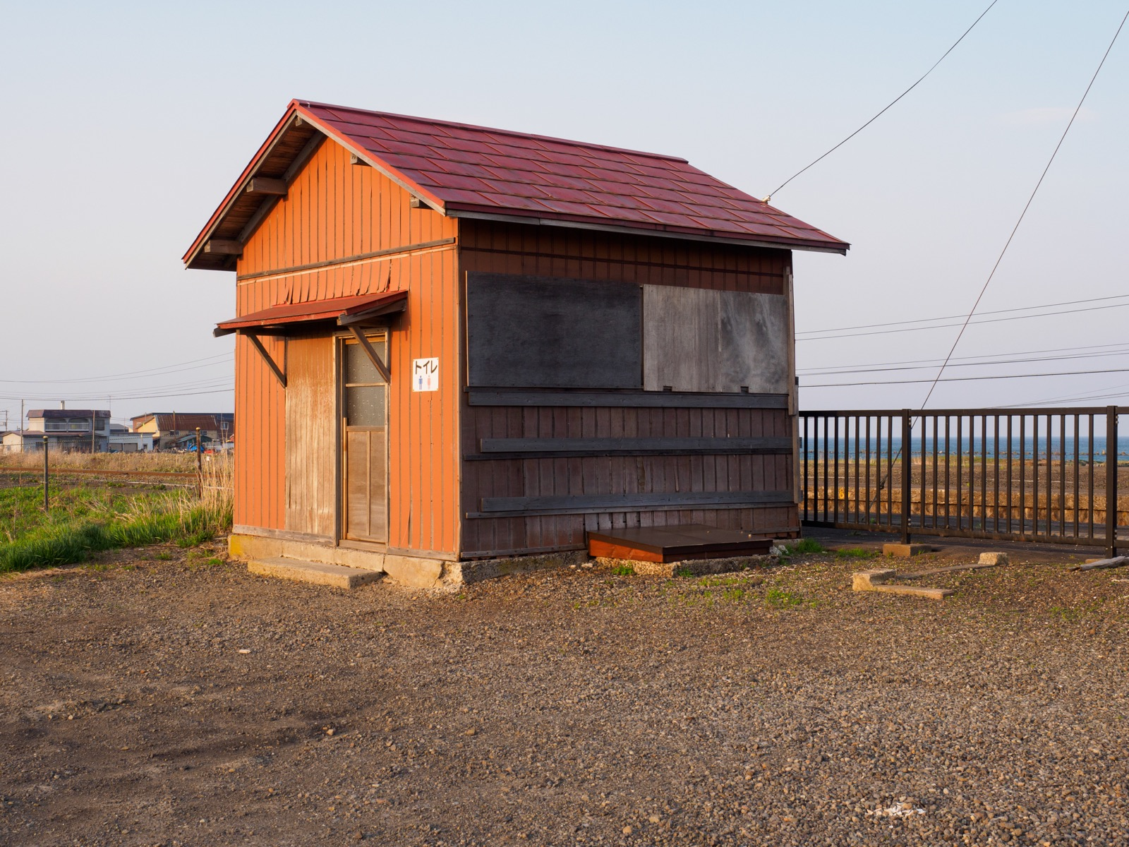 山崎駅のトイレ